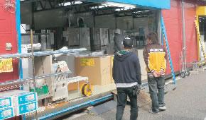 中古洗濯機・冷蔵庫・事務機コーナー